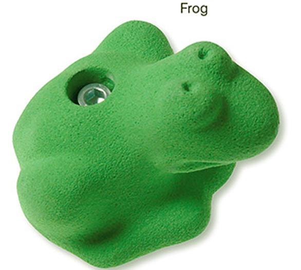 Зацеп FrogЗацепы<br><br> Зацеп Frog от чешской компании Makak, напоминающий лягушку, сделает тренировку для детей веселой и продуктивной. А родители могут не боятся за безопасность детей: прочный материал – полиэфирные смолы, усилен надежным креплением. Модель предназначен...<br><br>Цвет: Зеленый<br>Размер: None