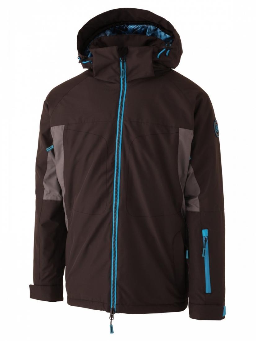 Куртка утепленная мужская SWZ1006503 GRAVITY 10KКуртки<br>Высокотехнологичная куртка для искушенных рейдеров. Эксклюзивный мембранный материал Surftex (10000 мм/10000 г/мм?)  не дает шансов не снегу, ни хо...<br><br>Цвет: Черный<br>Размер: L