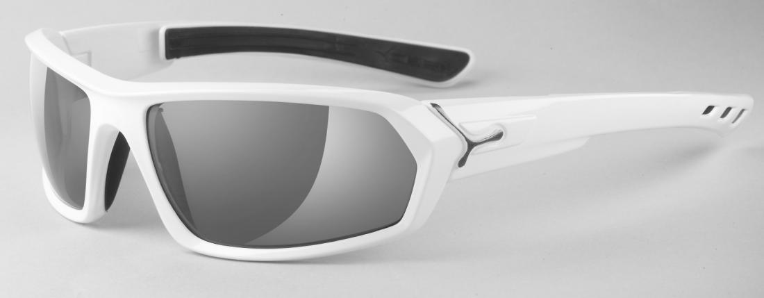 Очки Cebe  STEEMОчки<br>Спортивные солнцезащитные очки<br><br><br>  <br><br><br>Особенности:<br><br><br>  <br>    Дужки с технологией пяти точек посадки (SimbioTech)&lt;/l...<br><br>Цвет: Белый<br>Размер: None