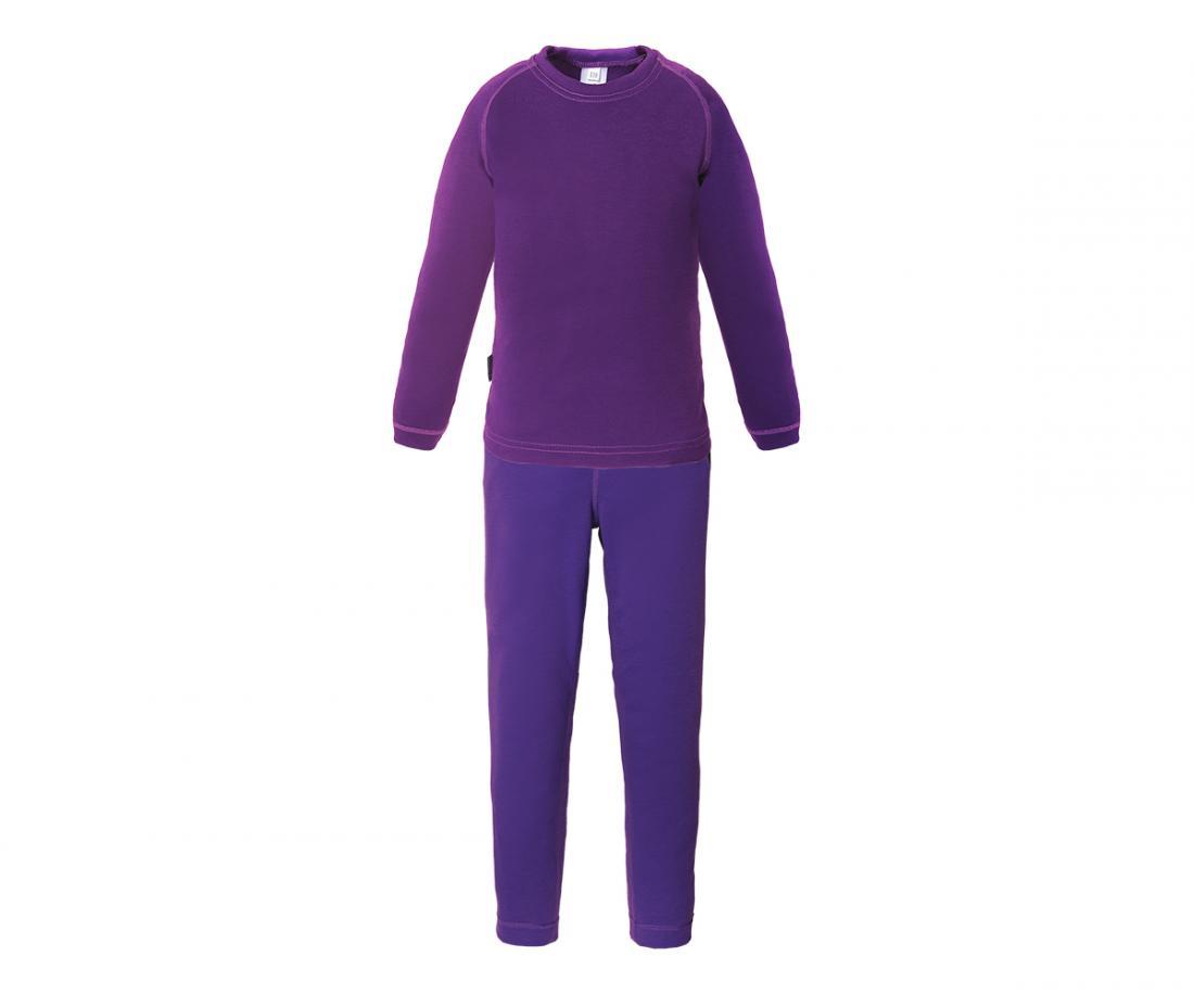 Термобелье костюм Cosmos Light II ДетскийКомплекты<br>Сверхлегкое технологичное термобелье. Идеально вкачестве базового слоя для занятий зимними видамиспорта, а также во время прогулок и но...<br><br>Цвет: Темно-фиолетовый<br>Размер: 104