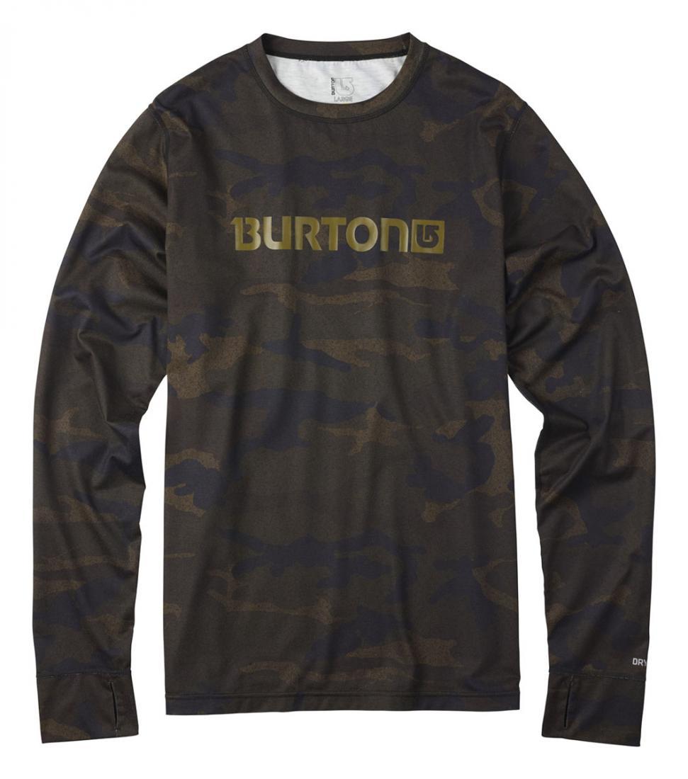 Термобелье(фуфайка) MB MDWT CREWФутболки<br><br> Мужская футболка MDWT Crew – универсальная модель от бренда Burton, рассчитанная на любую погоду. Зимой вы можете надеть ее под свитер и сноубордическую куртку, а в теплое время года носить вместо лонгслива.<br><br><br><br> Особенности <br>&lt;ul...<br><br>Цвет: None<br>Размер: None