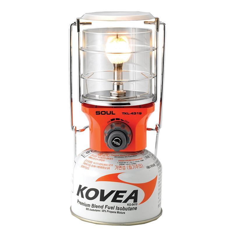 Лампа Kovea  газ.TKL-4319Топливное оборудование<br><br> Южно-корейская компания Kovea существует на рынке с 1982 г. Занимается производством и поставками газового оборудования и сопутствующих то...<br><br>Цвет: Белый<br>Размер: None