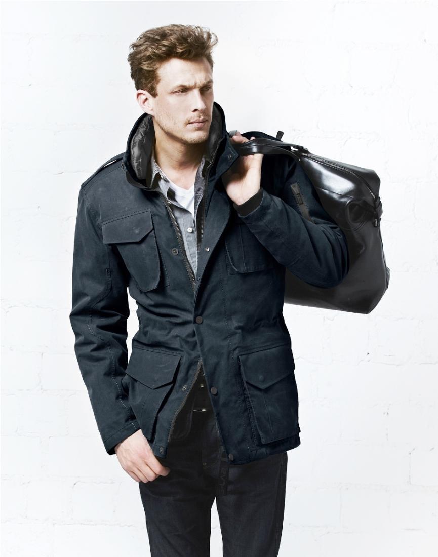 Куртка утепленная муж.DefenderКуртки<br>DEFENDER - это тот френч, каким он должен быть. Мы взяли классику за основу и создали френч 21 века: многофункциональный, износостойкий, удобный,...<br><br>Цвет: Синий<br>Размер: XXXL