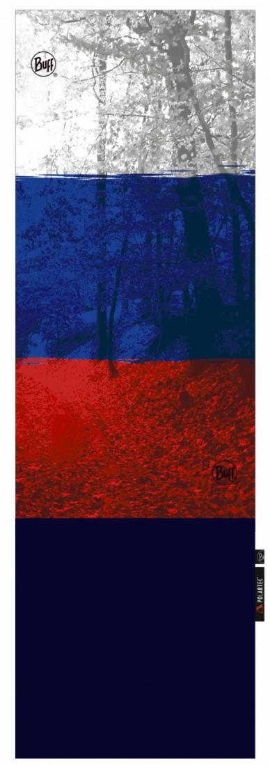 Buff Бандана BUFF POLAR BUFF BUFF RUSSIAN FLAG POLAR JUNIOR (One Size, , , ,) бандана buff buff alek black polar buff ® 53 62