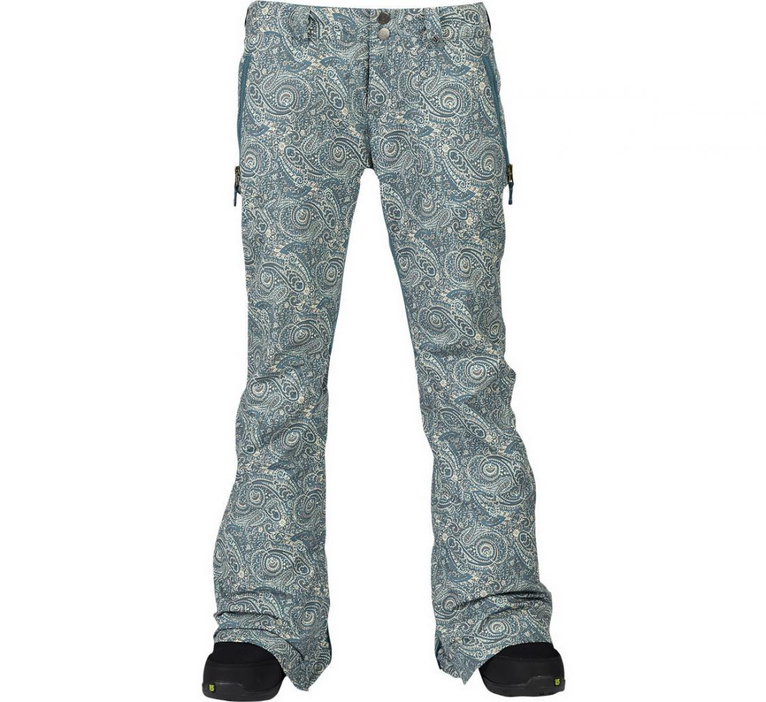 Брюки жен. г/л WB SKYLINE PTБрюки, штаны<br>Skyline – женские сноубордические брюки расклешенного кроя с посадкой по фигуре. В них вы будете чувствовать себя столь же удобно и расслабленно, как если бы надели любимые джинсы. Современные материалы от бренда Burton обеспечивают оптимальную вентиляцию...<br><br>Цвет: Голубой<br>Размер: M