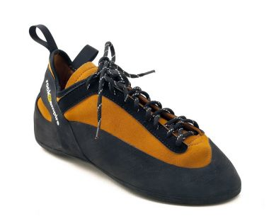Скальные туфли ShogunСкальные туфли<br>Скальные туфли средней жесткости c простой системой шнуровки для начинающих и скалолазов с небольшим опытом. Обеспечивают комфорт на протяжении всего длительного дня лазания. Благодаря специальному язычку, туфли подходят под различные формы ступни и по...<br><br>Цвет: Желтый<br>Размер: 35