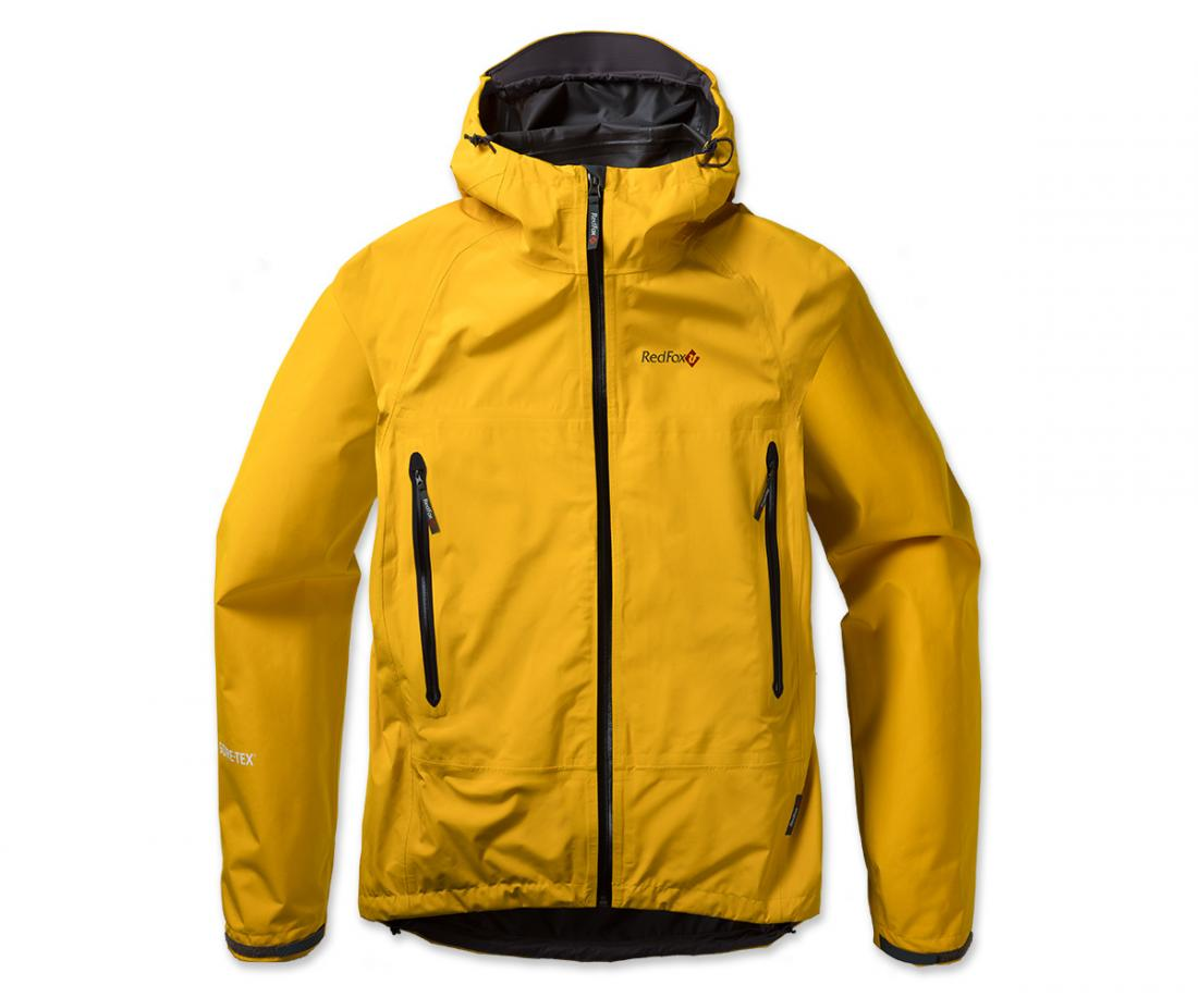 Куртка ветрозащитная Rain Fox Light GTXКуртки<br><br> Легкая штормовая куртка с капюшоном из серии Trekking идеальна в ветреную и дождливую погоду. Гарантию непромокаемости обеспечивает материал GORE-TEX® с технологией Paclite®<br><br><br> <br><br><br><br><br> Материал – GORE-TEX® с техн...<br><br>Цвет: Желтый<br>Размер: 60