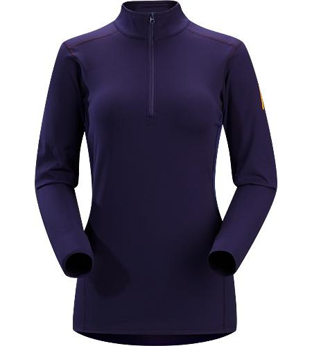 Термобелье футболка Phase SV Zip Neck LS жен.Футболки<br><br> Наиболее теплый базовый слой Phase для холодных дней в горах, конструкция с воротничком на молнии. <br><br>  <br><br><br><br><br>Отводящая в...<br><br>Цвет: Фиолетовый<br>Размер: L