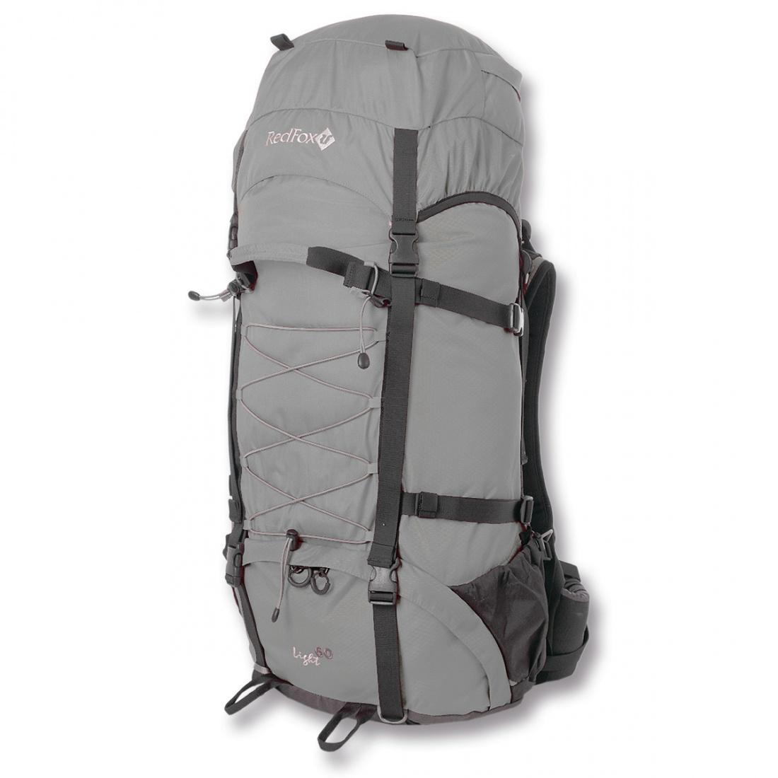 Рюкзак Light 60Туристические, треккинговые<br><br><br>Цвет: Серый<br>Размер: 60 л