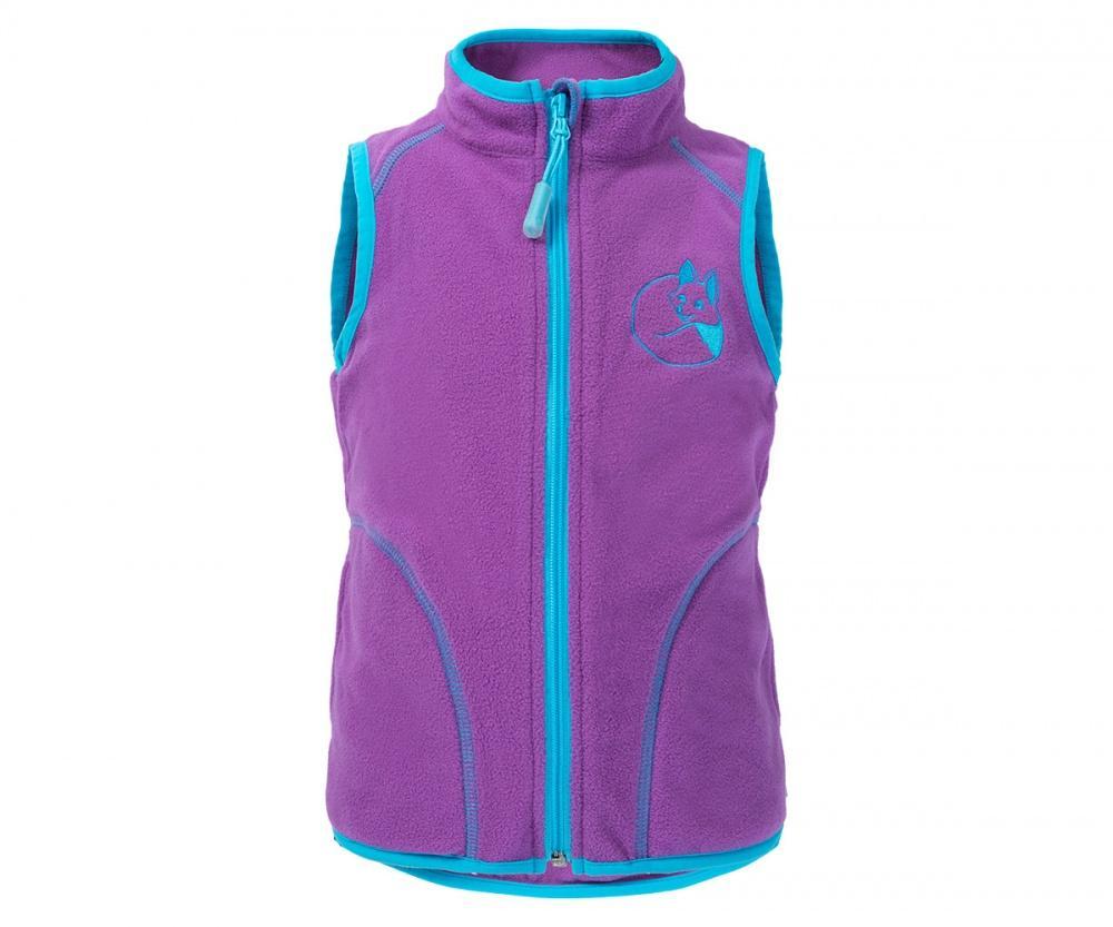 Жилет Flake BabyЖилеты<br>Жилет из флиса станет незаменимой вещью в гардеробе вашего малыша. Теплый уютный флис согреет ребенка в прохладную погоду и станет превосх...<br><br>Цвет: Светло-фиолетовый<br>Размер: 104