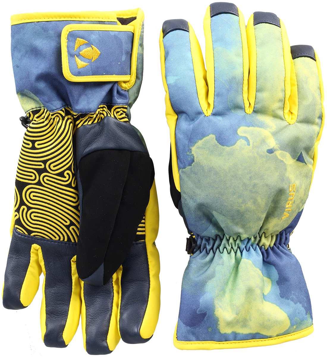 Перчатки GlobeПерчатки<br><br> Новая модель перчаток в актуальном аквапринте! Помимо цвета, модель Globe оснащена силиконовым рисунком на ладони, продлевающим срок службы перчатки, как и отделка пальцев кожаными вставками. Резинка на запястье, надежная мембрана DryZone и утеплит...<br><br>Цвет: Синий<br>Размер: M