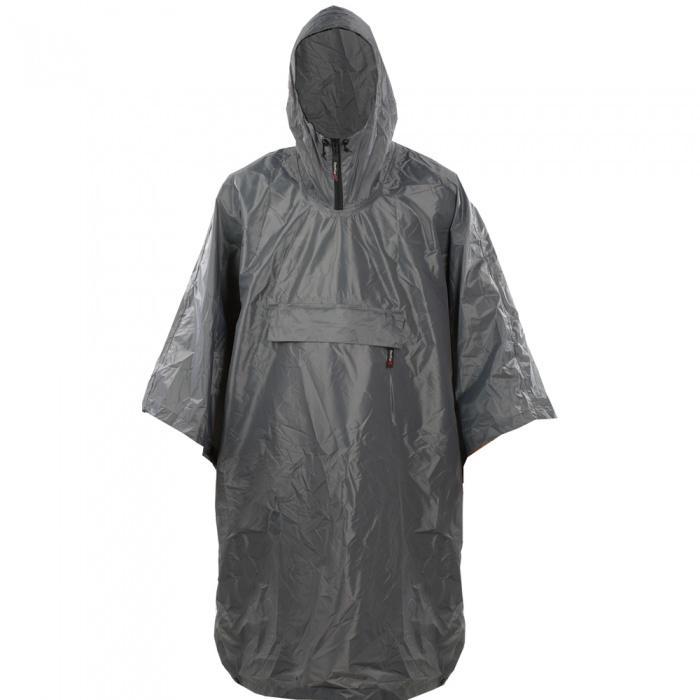 Накидка PonchoПлащи<br><br>Классическая накидка от дождя. Капюшон снабжен молнией и регулировкой объема. Упаковывается в нагрудный карман.<br><br><br>Материал: 100% Polyester 70D 190T TAFF. PU3000 <br>Размерный ряд: One size<br><br><br>Цвет: Серый<br>Размер: None