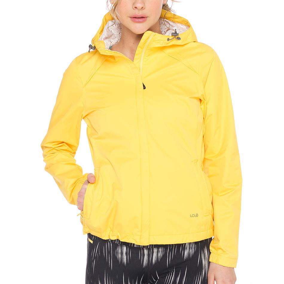 Куртка LUW0282 CUMULUS JACKETКуртки<br><br><br><br> С женской курткой Lole Cumulus Jacket дождь не застанет вас врасплох. Достаточно накинуть капюшон, и непогода не сможет помешать вам наслаждаться прогулкой или путешествием. Модель LU...<br><br>Цвет: Желтый<br>Размер: S