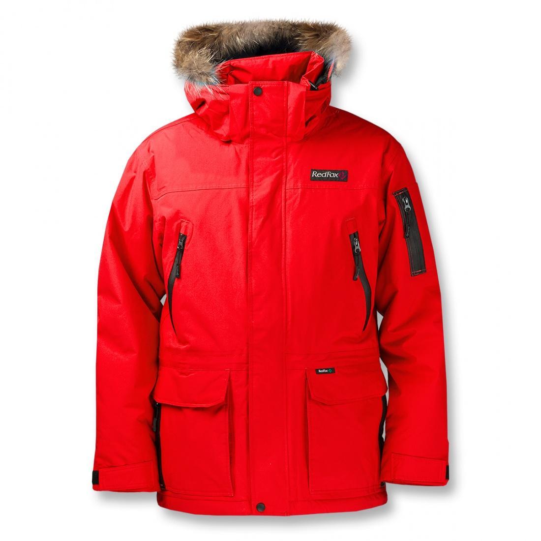 Куртка утепленная Valley II МужскаяКуртки<br>Универсальная утепленная куртка для мужчин.  <br> <br><br><br>Серия Life Style/ утепленная одежда<br>Материал: Dry Factor 10000<br>Утеплитель:...<br><br>Цвет: Красный<br>Размер: 52