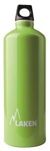 Фото - 73-VM Фляга Futura с карабином screw cap от Laken Фляга Futura 73-VM screw cap (, зеленое яблоко, , 1л)