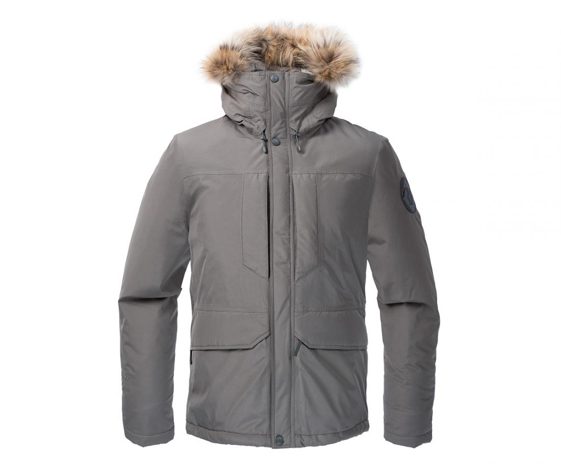 Куртка утепленная Yukon GTX МужскаяКуртки<br><br> Городская парка высокотехнологичного дизайна. Сочетание утеплителя Thinsulate® c непродуваемым материалом GORE-TEX® гарантирует исключительн...<br><br>Цвет: Серый<br>Размер: 60