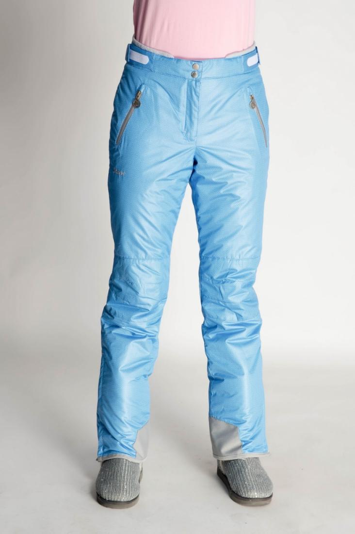 Брюки утепленные 233452Брюки, штаны<br><br><br>Цвет: Голубой<br>Размер: 44