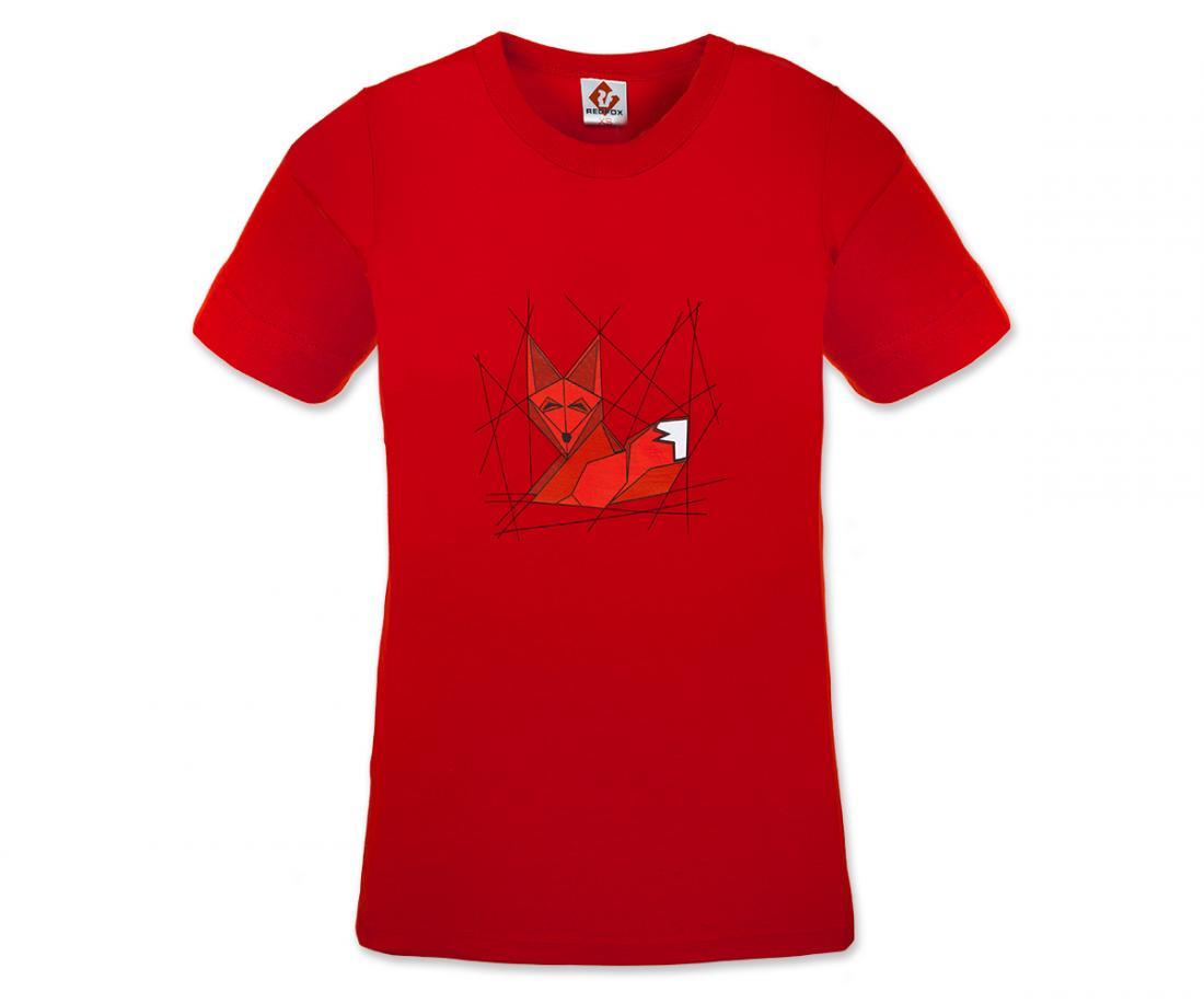 Футболка Fox TФутболки, поло<br><br>Материал – хлопок.<br>Размерный ряд – XS, S, M, L.<br><br><br>Цвет: Красный<br>Размер: XS