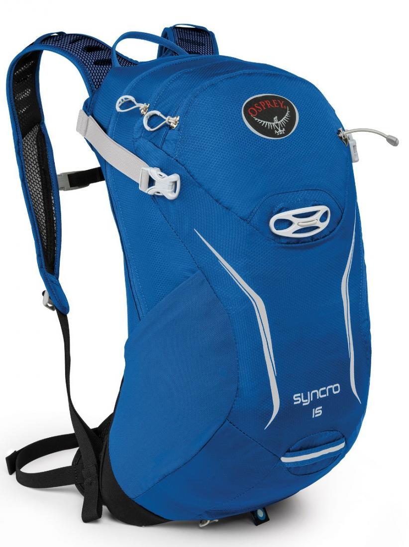 Рюкзак Syncro 15Рюкзаки<br>Хотите приехать в место назначения, сохранив комфорт, спокойствие и собранность? Рюкзаки серии Syncro стали еще компактнее и легче. Обеспечи...<br><br>Цвет: Синий<br>Размер: 14 л