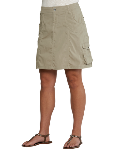 Юбка Ws Kontra SkirtЮбки<br>Легкая юбка из эластичной ткани.<br><br> <br><br><br><br>Материал – 72% хлопок, 26% нейлон, 2% спандекс.<br> <br><br><br><br> <br><br> <br><br>Цвет: Бежевый<br>Размер: 6