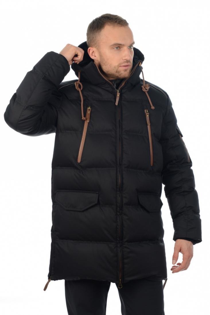 Куртка 48702 муж.Куртки<br>Удлиненный мужской пуховик для самой суровой непогоды. Отличная посадка по фигуре, полная свобода движения благодаря продуманной констр...<br><br>Цвет: Черный<br>Размер: 50