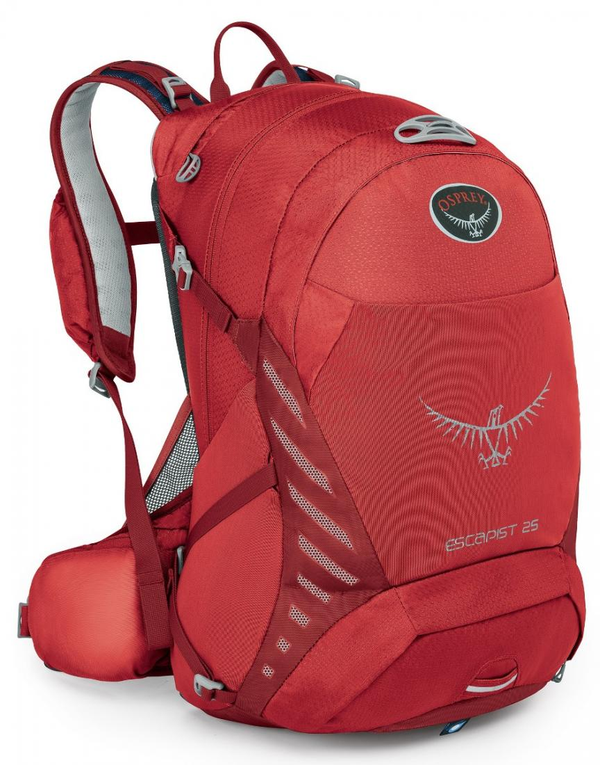 Osprey Рюкзак Escapist 25 (S-M, Cayenne Red, , ,) osprey рюкзак xena 85 m ruby red