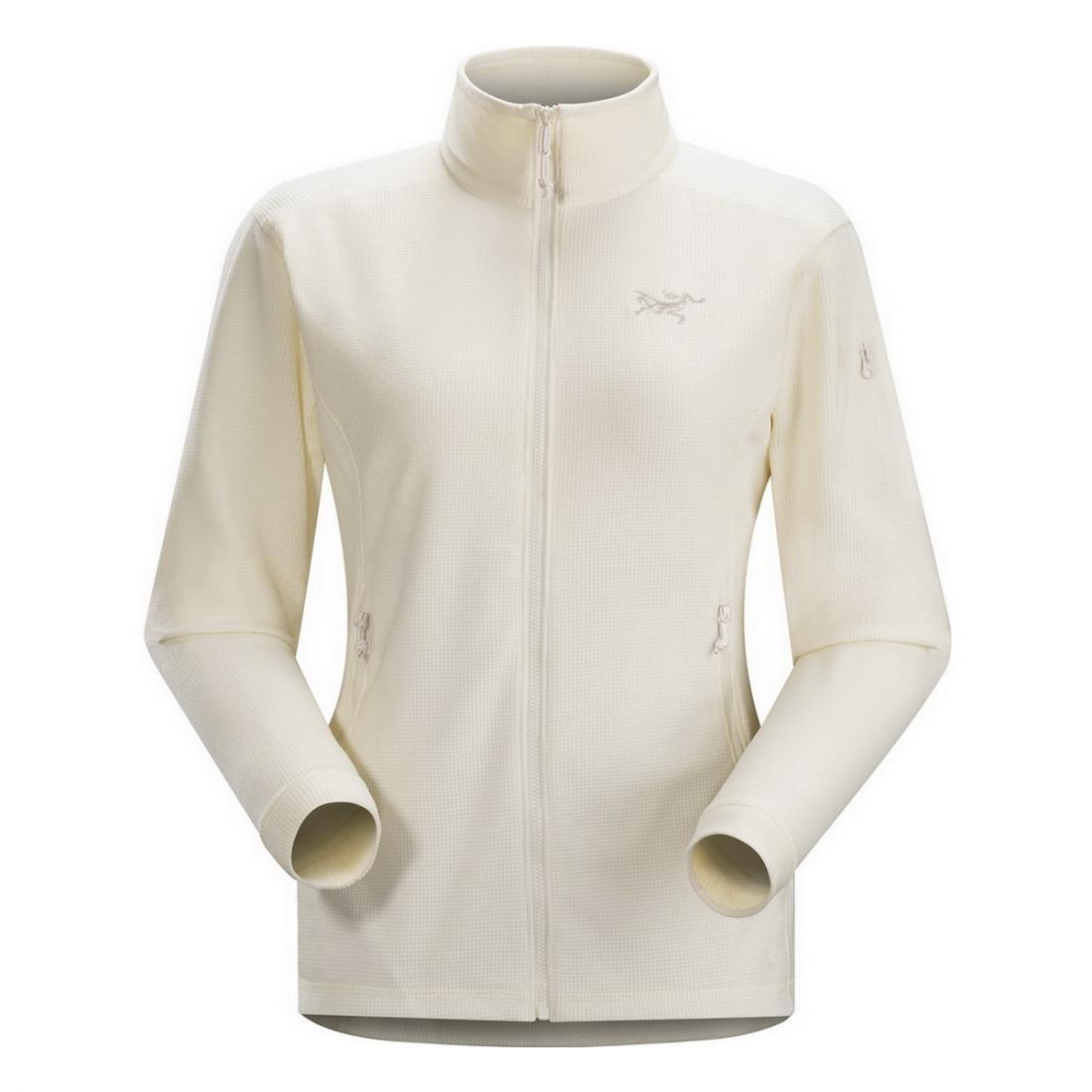 Куртка Delta LT жен.Пуловеры<br><br><br><br> Женская курткаArcteryx Delta LT Jacket Womens может использоваться в межсезонье и зимой как самостоятельно, так и в качестве дополнительного у...<br><br>Цвет: Белый<br>Размер: L