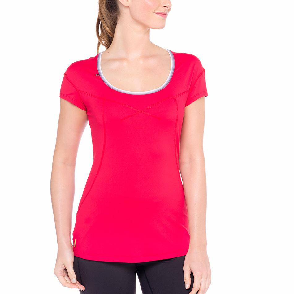 Lole Футболка LSW1320 CARDIO T-SHIRT (XS, CHILLIES, ,) lole брюки lsw1351 motion staright pants темно серый