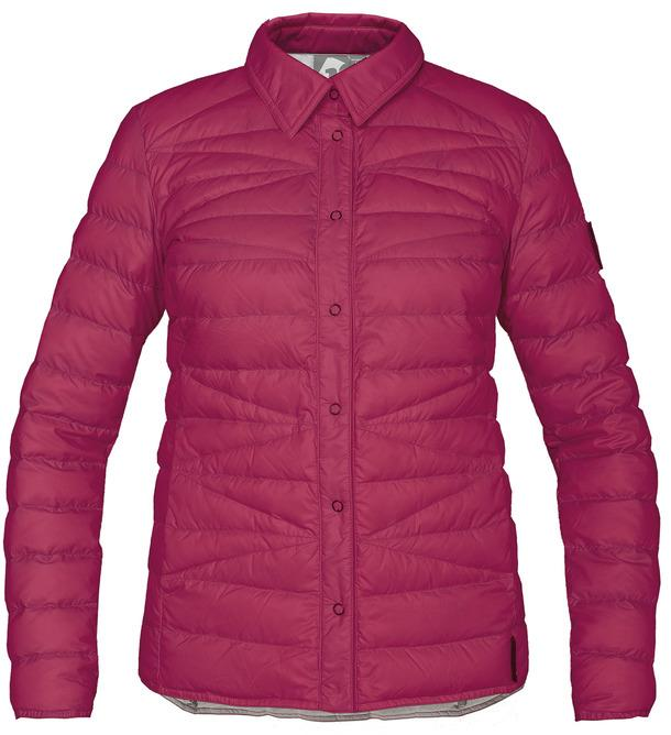 Рубашка пуховая Yuki ЖенскаяРубашки<br><br> Городская пуховая рубашка лаконичного дизайна соригинальной стежкой.<br> Эргономичная и легкая модель, можно использовать вкачеств...<br><br>Цвет: Красный<br>Размер: 52