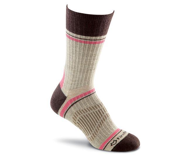 Носки турист. 2530 Skyline Crew жен.Носки<br>Эти тонкие носки подходят для любых приключений. Они изготовлены из устойчивых волокон TENCEL® и мериносовой шерсти, благодаря чему ваши ноги будут в сухости и тепле. <br>Эксклюзивная конструкция Helix Fit™обеспечивает бесподобную посадку и объемную комп...<br><br>Цвет: Коричневый<br>Размер: M