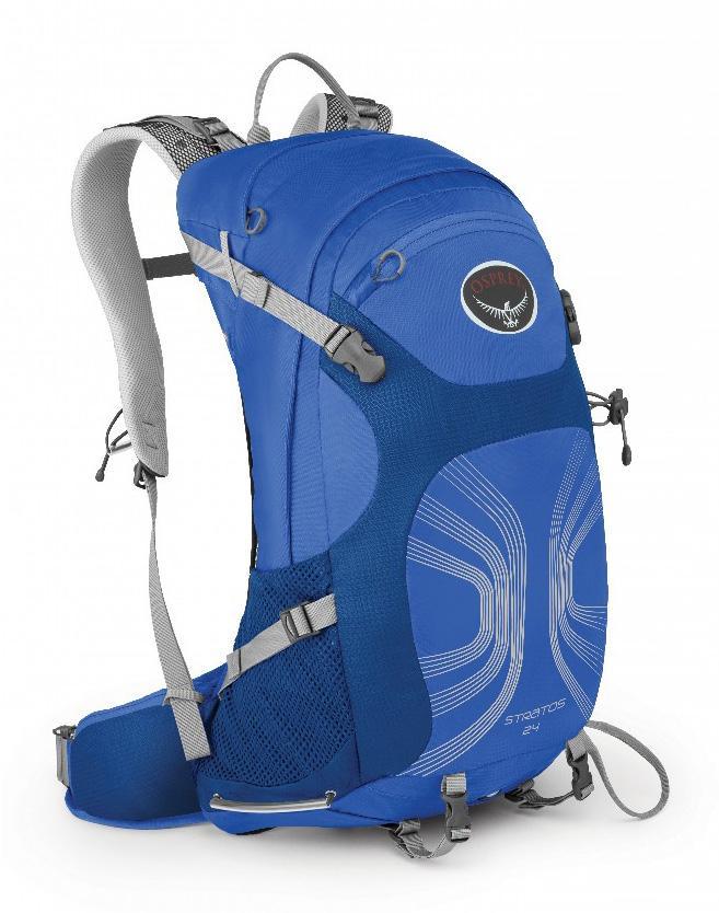 Рюкзак Stratos 24Рюкзаки<br>Рюкзаки серии Stratos имеют вентилируемую конструкцию спины AirSpeed™ из натянутой сетки с боковой вентиляцией, обеспечивая непревзойденный комфорт. Поясной ремень и лямки выполнены из наполнителя EVA с подкладкой из сетки для вентиляции. В жарких усло...<br><br>Цвет: Кобальт<br>Размер: 24 л