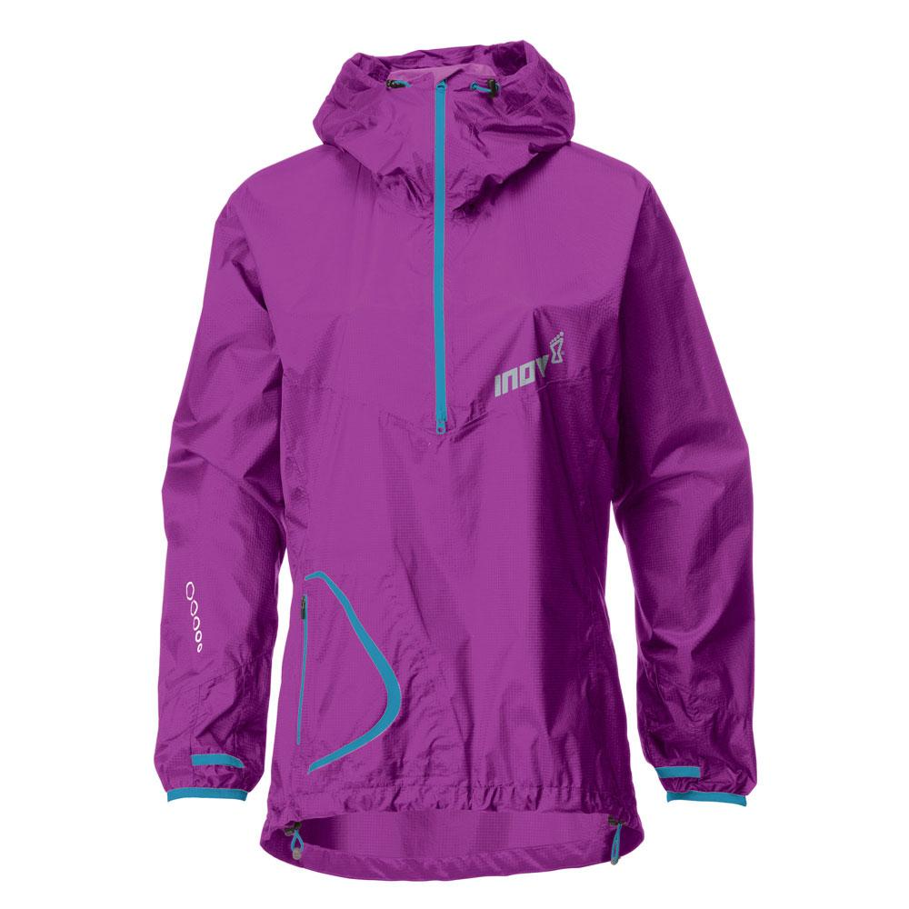 Inov-8 Куртка Race Elite 140 stormshell W (6, Purple/Turquoise, ,) inov 8 футболка at c tri blend ss strip w 6 black pink
