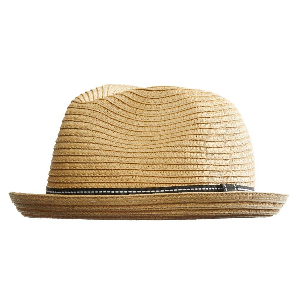 Шляпа/Панама AARON жен.Панамы<br>Состав: 100% солома<br><br>Цвет: Коричневый<br>Размер: L/XL