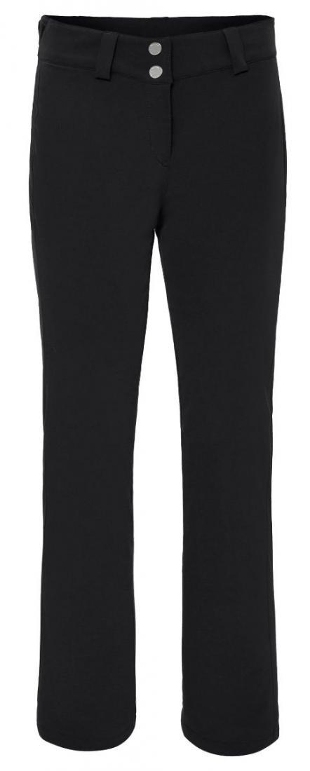 Брюки Harriet жен.Брюки, штаны<br>Классические женские брюки Descente с высокой талией и приталенным кроем.<br>Технология 3D cutting обеспечивает дополнительное тепло и комфорт вокруг бедер. Боковые швы слегка перенесены вперед для стройнящего эффекта и для того, чтобы подчеркнуть длину ног...<br><br>Цвет: Черный<br>Размер: 40