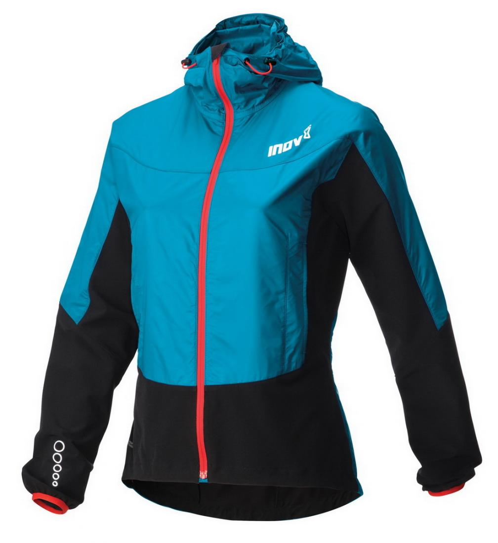 Inov-8 Куртка Race Elite 300 Softshell Pro W (XL, Turquoise/Black/Barberry, ,) inov 8 футболка at c tri blend ss strip w 6 black pink