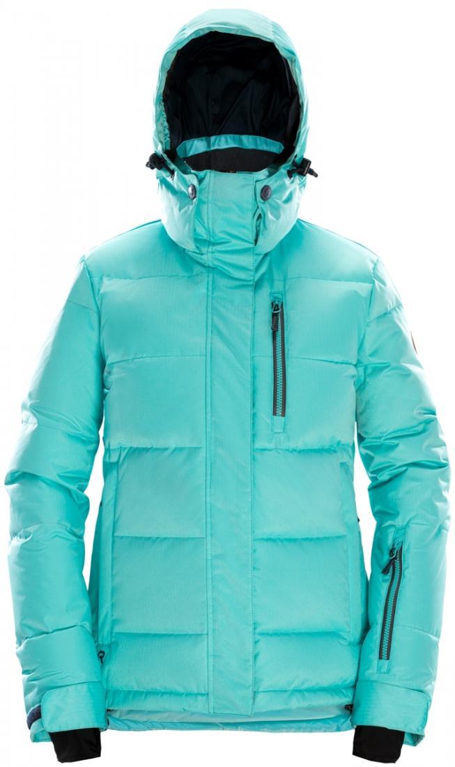 Куртка пуховая SUNRISE WПуховики<br>Модель Sunrise W сделана в соответствии с классическими трендами женского пуховика для катания: куртка подчеркивает фигуру, благодаря приталенному силуэту, в тоже время, согревая обладательницу. Подойдет, как для повседневного использования в городе, т...<br><br>Цвет: Бирюзовый<br>Размер: XS