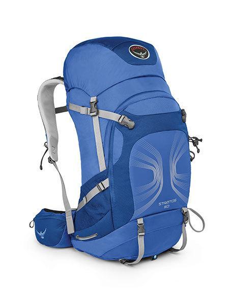 Рюкзак Stratos 50Туристические, треккинговые<br><br><br>Цвет: Синий<br>Размер: 47 л