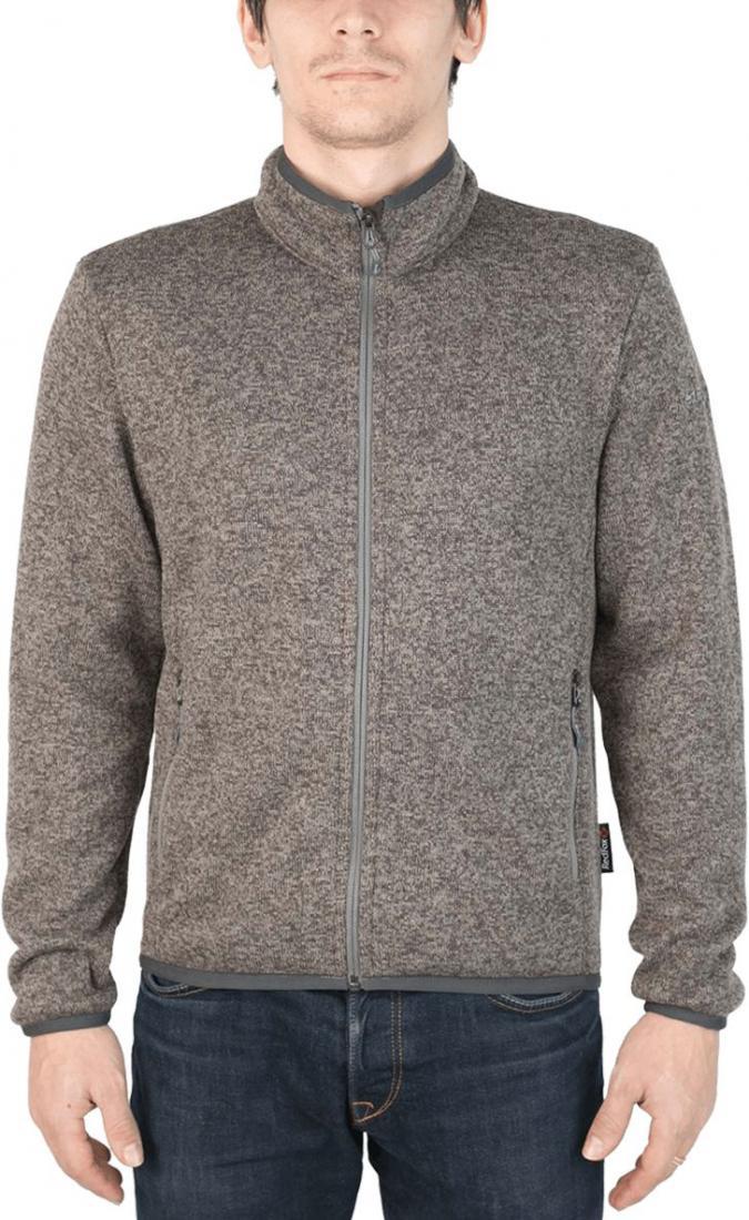 Куртка Tweed III МужскаяКуртки<br><br> Теплая и стильная куртка для холодного временигода, выполненная из флисового материала с эффектом«sweater look». Отлично отводит влагу, сохраняет тепло,легкая и не громоздкая.<br><br><br> Основные характеристики<br><br><br>воротн...<br><br>Цвет: Темно-серый<br>Размер: 54