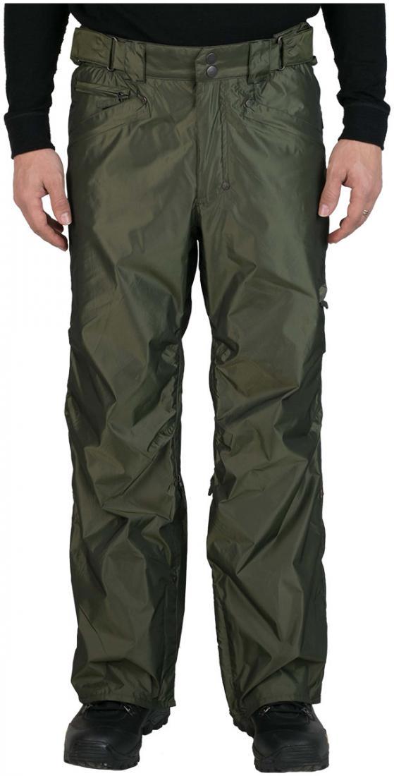 Штаны сноубордические MobsterБрюки, штаны<br><br> Сноубордические штаны свободного кроя Mobster сконструированы специально для катания вне трасс. Этому также способствуют карманы, препят...<br><br>Цвет: Зеленый<br>Размер: 54
