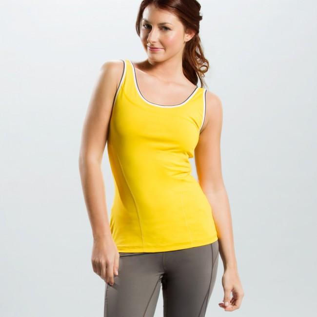 Топ LSW0933 SILHOUETTE UP TANK TOPФутболки, поло<br><br> Silhouette Up Tank Top LSW0933 – простая и функциональная футболка для женщин от спортивного бренда Lole. Модель имеет широкий вырез на спине, придающий ей открытость и сексуальность, удобный анатомический крой, встроенный бюстгальтер. Справа преду...<br><br>Цвет: Желтый<br>Размер: M