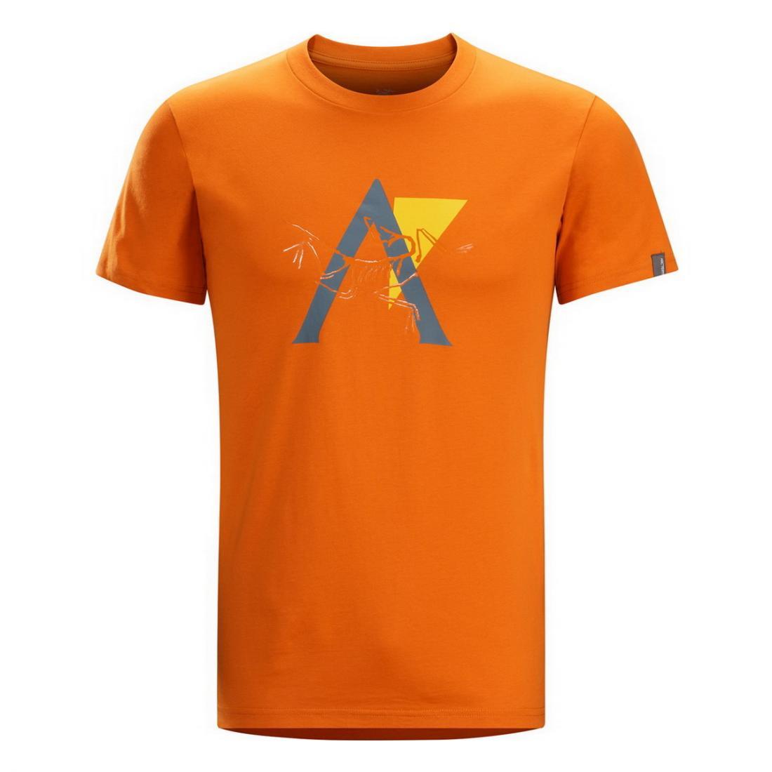 Футболка Stack SS T-Shirt муж.Футболки, поло<br><br><br>Цвет: Оранжевый<br>Размер: M