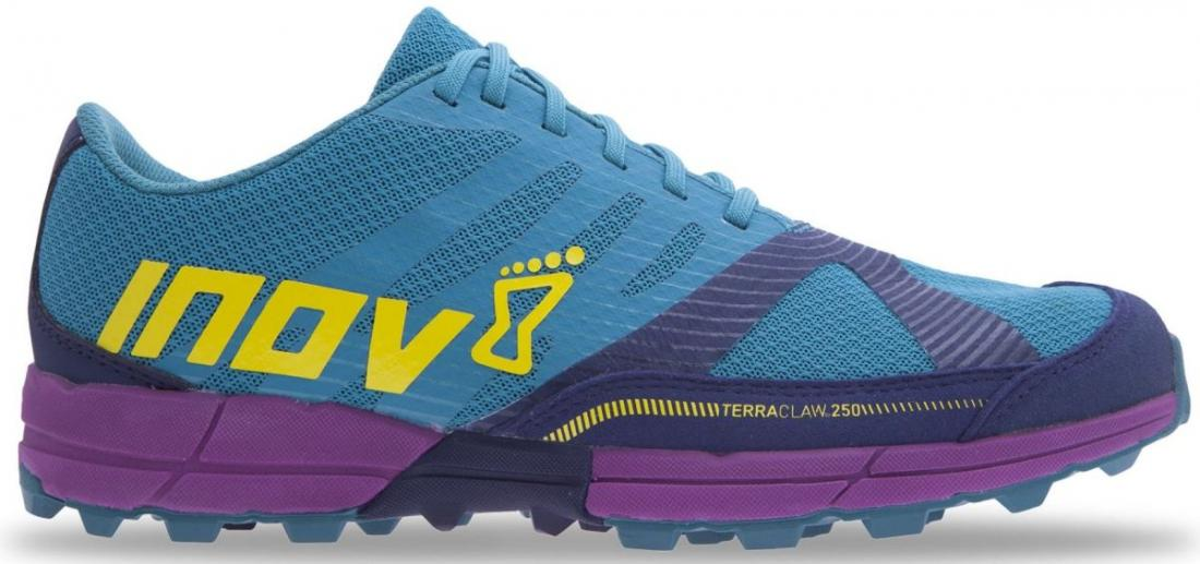 Inov-8 Кроссовки Terraclaw 250 (S) жен. (3, Teal/Navy/Purple, , ,) inov 8 кроссовки roclite 290 жен 6 5 teal black white