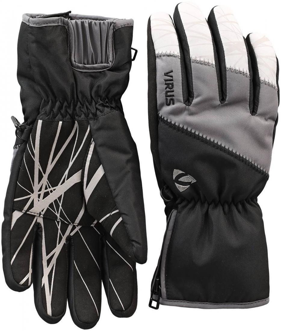 Перчатки Trail W женскиеПерчатки<br><br><br>Цвет: Черный<br>Размер: XL