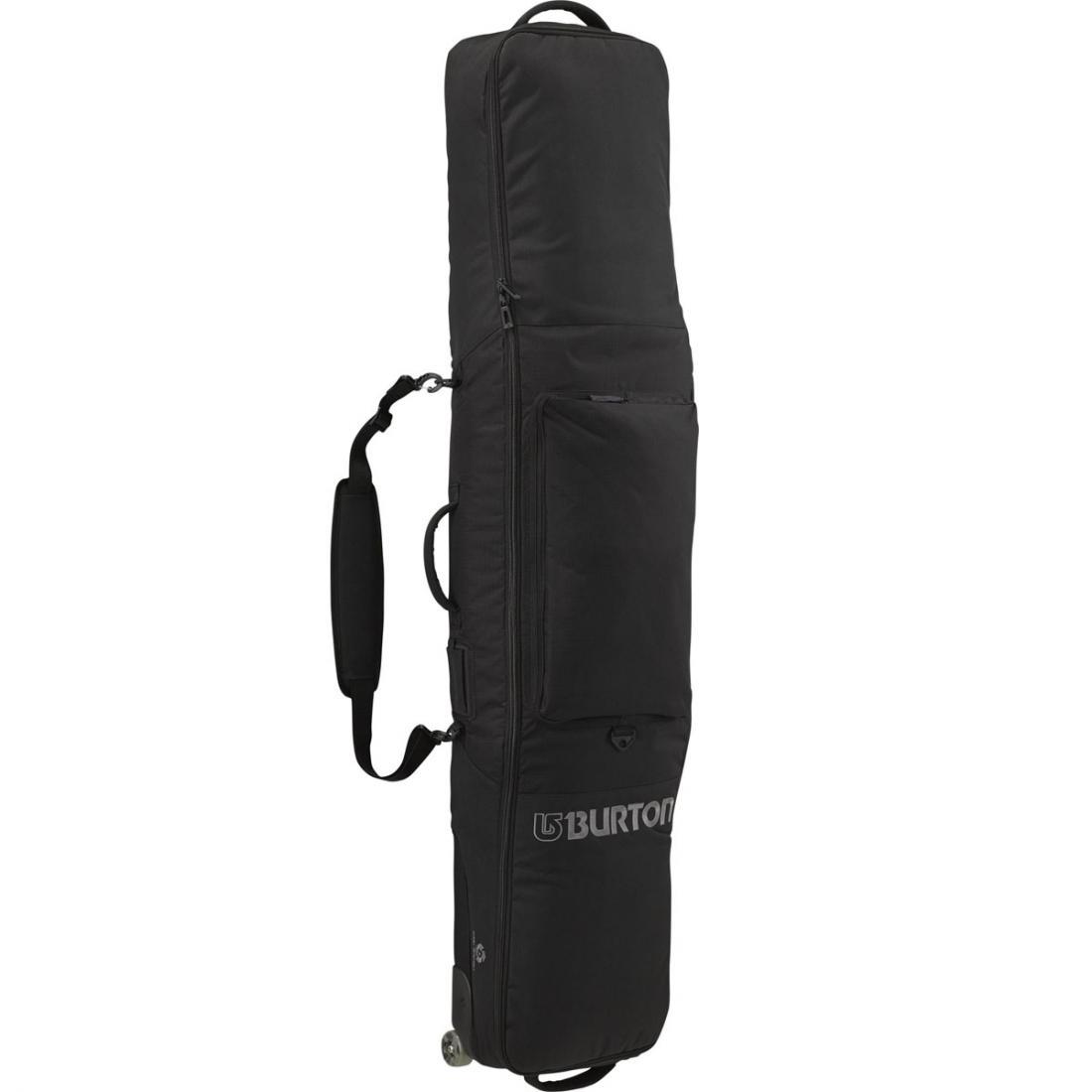 Сумка для сноуборда GIG BAGСумки<br><br> Сумка для сноуборда Gig Bag предназначена для надежной защиты доски от механических повреждений, воздействия влаги, низких температур и п...<br><br>Цвет: Черный<br>Размер: 156