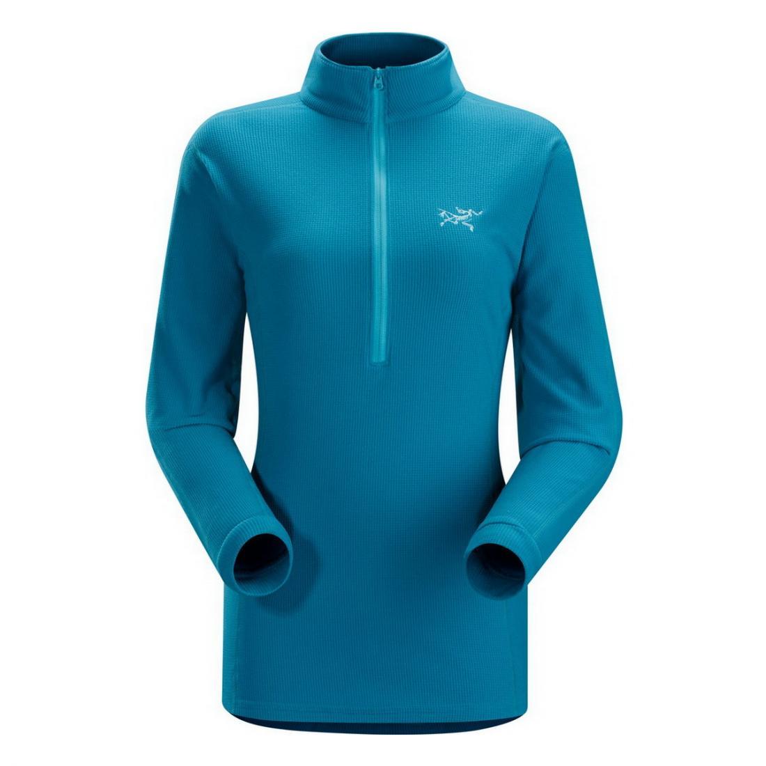 Куртка Delta LT Zip жен.Пуловеры<br><br><br>Цвет: Синий<br>Размер: L