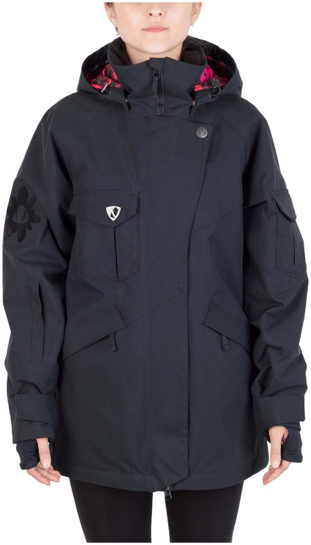 Куртка Virus  утепленная Batty жен.Куртки<br><br><br>Цвет: Черный<br>Размер: 48
