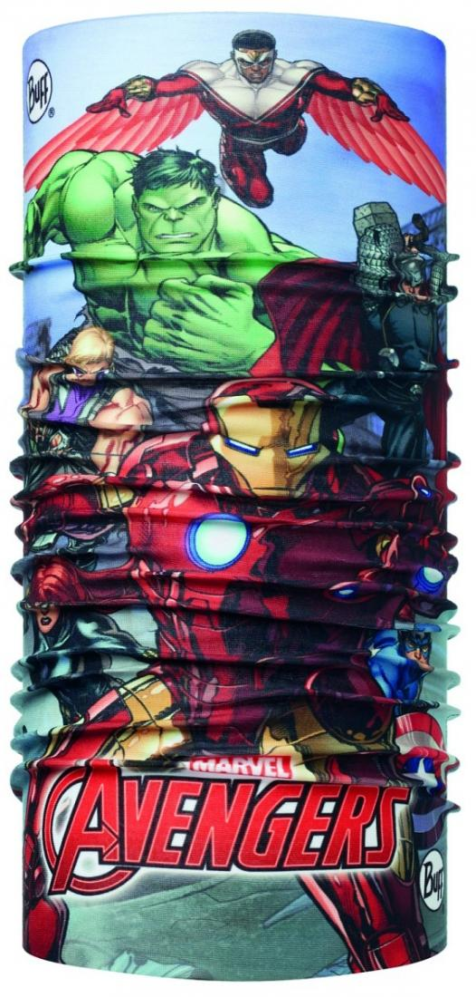 Buff Бандана BUFF SUPERHEROES JR POLAR BUFF (One Size, AVENGERS ASSEMBLE MULTI/FLINT, , ,) бандана buff buff alek black polar buff ® 53 62