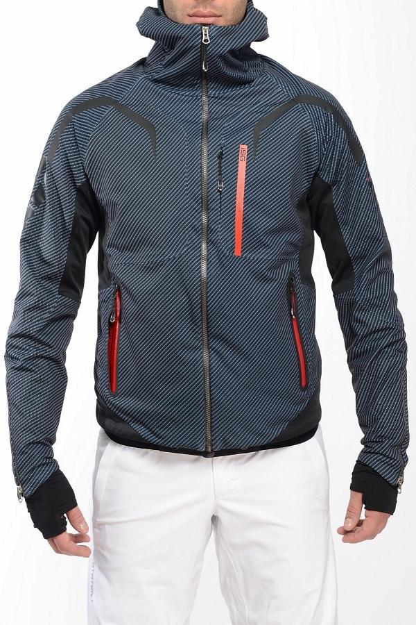 Куртка спортивная 409161Куртки<br>Стильная многофункциональная модель эргономичного кроя коллекции ISG из нового трехслойного эластичного материала Soft Shell, изделия из котор...<br><br>Цвет: Черный<br>Размер: 52