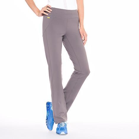Брюки LSW1353 LIVELY STRAIGHT PANTSБрюки, штаны<br><br><br><br> Если вы ищите удобные спортивные женские штаны для фитнеса, которые будут идеально сидеть на фигуре...<br><br>Цвет: Серый<br>Размер: L