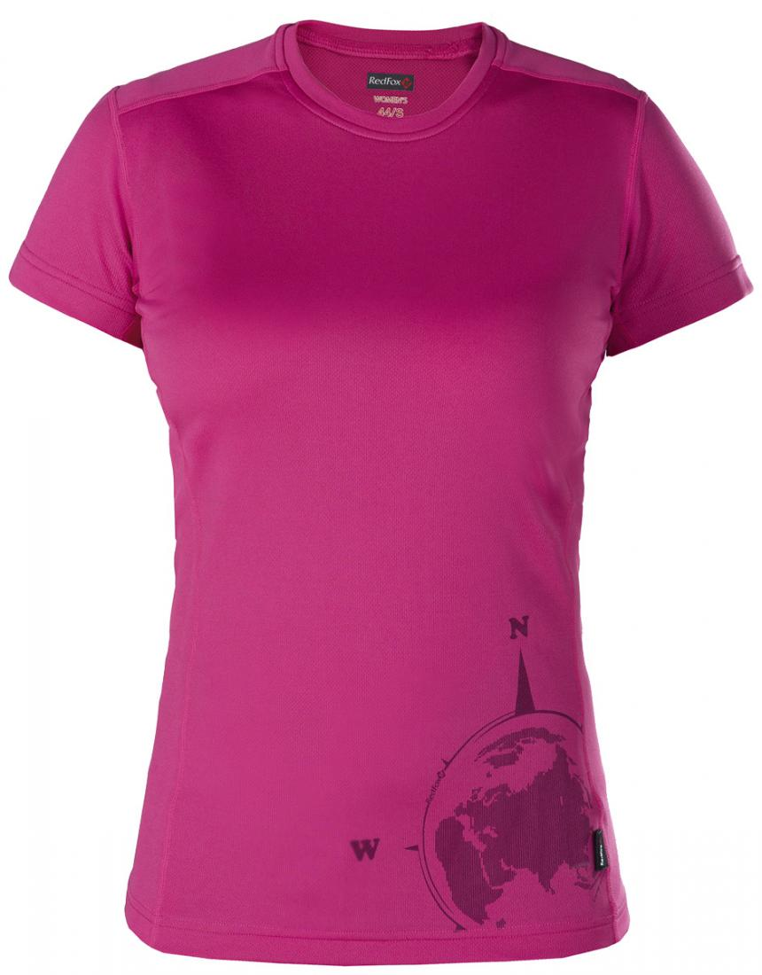 Футболка Adventure ЖенскаяОдежда<br>Легкая и функциональная футболка свободного кроя из материала с высокими влагоотводящими показателями. Может использоваться в качестве...<br><br>Цвет: Розовый<br>Размер: 50